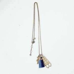 J Crew Tassel Necklace